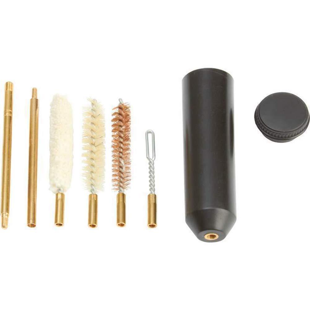 FairOnly - Pinceles de limpieza para pistola con mango ergonómico (9 mm)