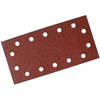 Silverline 595752 - Hojas de lija perforadas autoadherentes