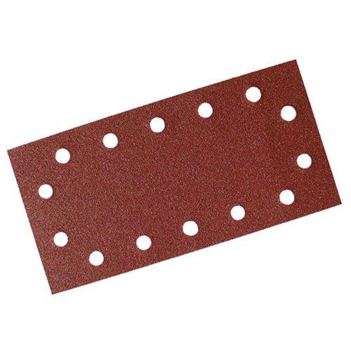 Silverline 595752 - Hojas de lija perforadas autoadherentes 115 x 230 mm, 10 pzas (Grano 240) Toolstream