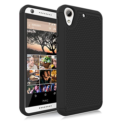 (HTC Desire 626 Case, Desire 626S Case, Jeylly [Shock Proof] Scratch Absorbing Hybrid Rubber Plastic Impact Defender Rugged Slim Hard Case Cover Shell HTC Desire 626S/626 All Carriers)