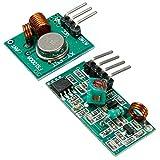 QOJA 433mhz rf transmitter with receiver kit for arduino arm mcu