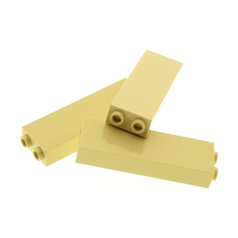 4 x Lego System Stütze beige 1x2x5 Basic Bau Stein Säule Pfeiler Star Wars 2454