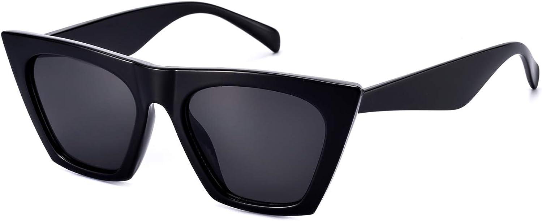 Black Cat Eye NEW 2019 Sunglasses Retro Classic Vintage Design Women/'s Fashion