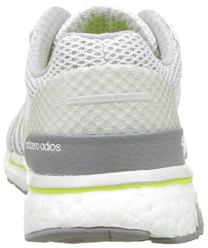 Blanc Unisexe Adultes Solaire Argent Métallisé Jaune Chaussures Concours Course De Blanc Adios Adizero Adidas De Des chaussures tUvgqBCw