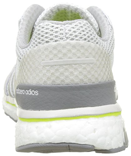 Blanc Running Adizero Femme White silver Metallic Yellow footwear De Entrainement Adios solar W Chaussures Adidas 8HXwqB