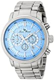 Lucien Piccard Men's LP-12011-102 Monte Viso Analog Display Japanese Quartz Silver Watch, Watch Central