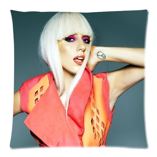 [Fan Create Lady Gaga Cool Custom Zippered Pillow Cases 18x18 (one side)] (Lady Gaga Video Costumes)