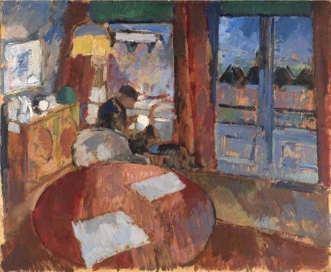 'Rik Wouters - Interior With Embroiderer, 20th Century' - Universal Remote Punch Through