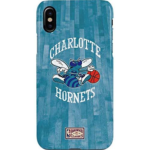 Charlotte Hornets Hardwood Classics iPhone XS Case - NBA   Skinit Lite Case - Thin & Lightweight iPhone XS Cover