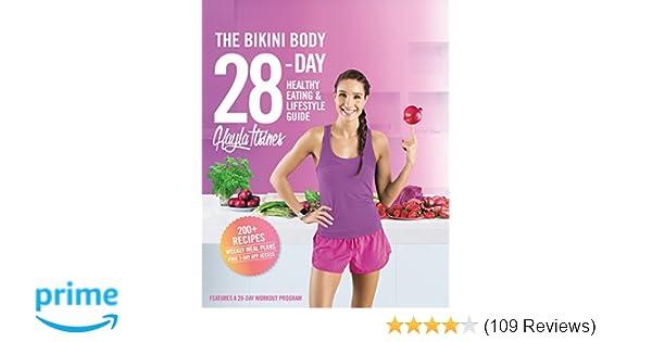 The bikini body 28 day healthy eating lifestyle guide 200 recipes the bikini body 28 day healthy eating lifestyle guide 200 recipes and weekly menus to kick start your journey kayla itsines 9781250121479 amazon fandeluxe Choice Image