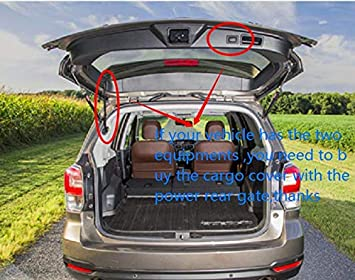 Updated version:There is no gap between the back seats and the trunk cover Kaungka Cargo Cover for 13-18 Ford Escape Cargo Cover Trunk Shielding Shade Black