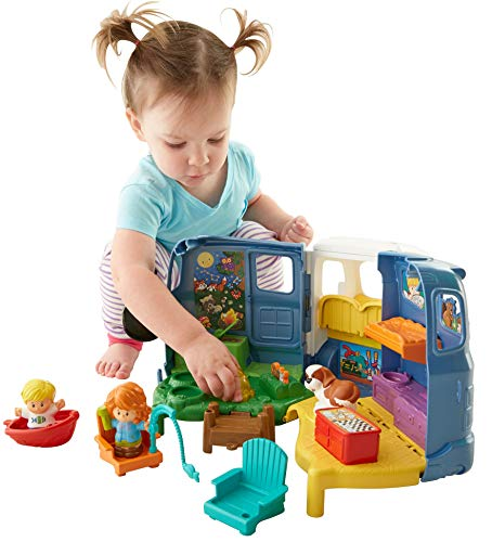 517J5e%2BZ33L - Fisher-Price Little People Songs & Sounds Camper
