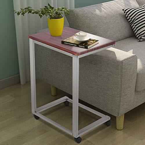 Amazon Com Tangkula Sofa Side Table Home Office Sofa