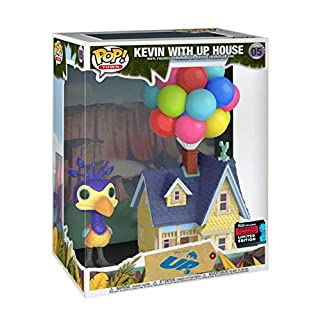 POP! Funko Town Disney Pixar Kevin with Up House #05 2019 Fall Convention Limited Edition