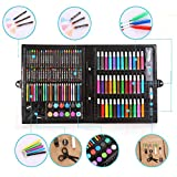 OYTRO 150Pcs/Set Children Art Brush Color Pen Painting Tools Set Crayons