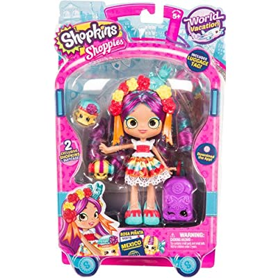 Shopkins Rosa Pinata Visits Mexico: Toys & Games