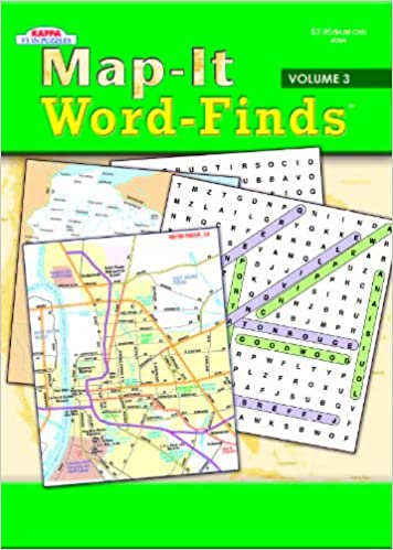 Amazonin Buy Map It Word Finds Volume 3 Book Online at Low