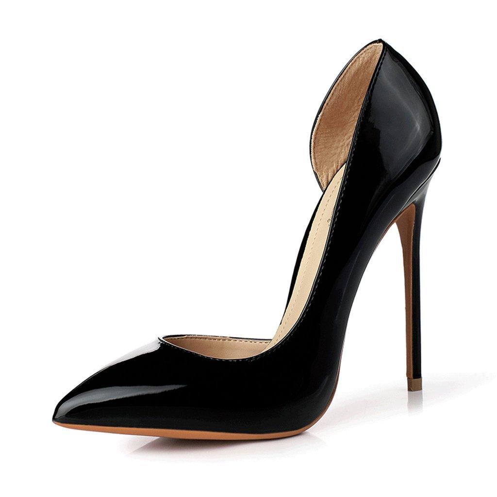 Hyun Times Bien con Zapatos de Tacón Alto DE 12 cm 39 EU|Negro