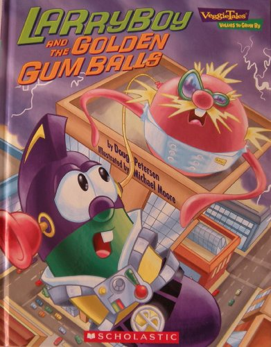 Larryboy and the Golden Gum Balls (Veggie Tales - Values to Grow By (VeggieTales)) ()