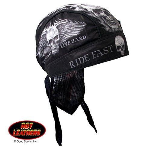 (Hot Leathers Authentic Bikers Premium Headwraps, BAD SCRATCH,