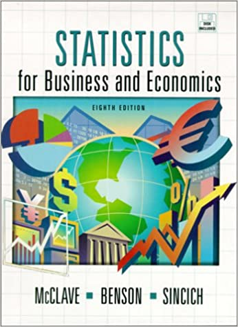 Statistics For Business And Economics 8th Edition James T