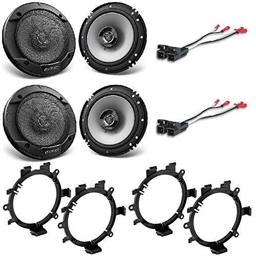 Kenwood KFC-1666S 6.5-inch 2-Way CAR Audio COAXIAL Speakers