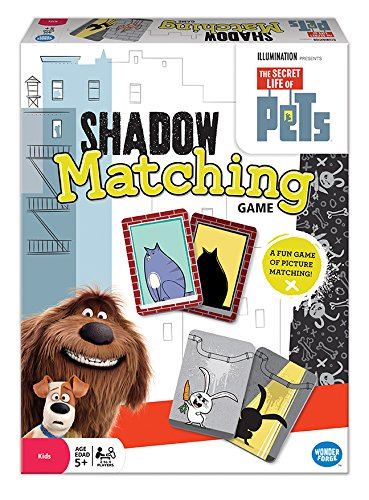 The Secret Life of Pets Matching Game