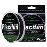 Piscifun Braided Fishing Line 6lb-150lb Superline Abrasion...