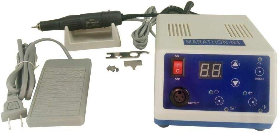 Pulidora el/éctrica de marat/ón con micromotor 1 unidad N4 45 K rpm pieza de mano
