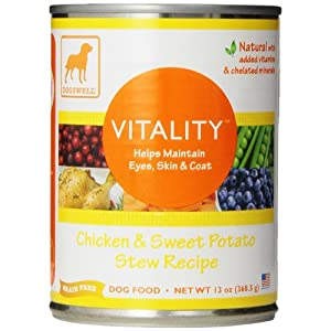 DOGSWELL Vitality Wet Dog Food with Vitamins & Essential Fatty Acids 97