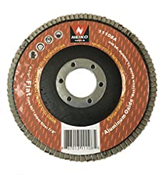 Neiko 11108A Aluminum Oxide Flap Disc | ...