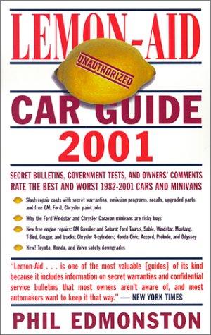 Download Lemon-Aid Car Guide 2001 pdf