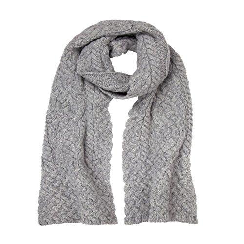 Donegal Irish Merino Wool & Cashmere Scarf by Ireland's Eye Knitwear by The Irish Store - Irish Gifts from Ireland