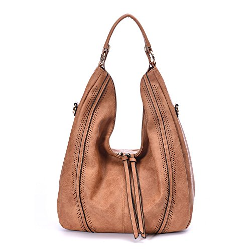 Leather Hobo Bags Women oversized Handbags Crossbody Shoulder Tote Summer Stylish Purse (Womens Oversized Handbag)