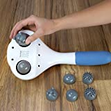 Double-Head-Electric-Massager-Percussion-Action-Handheld-Massager-for-Deep-Tissue-Muscle-Kneading-Variable-Speed