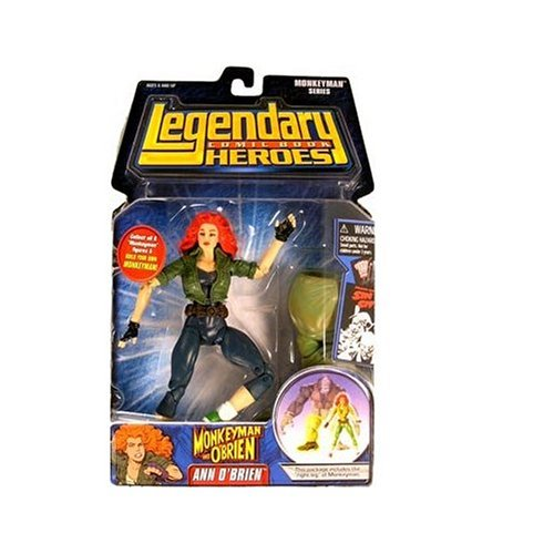 Legendary Comic Book Heroes Series 2 Ann O'Brien Variant Ver Figure