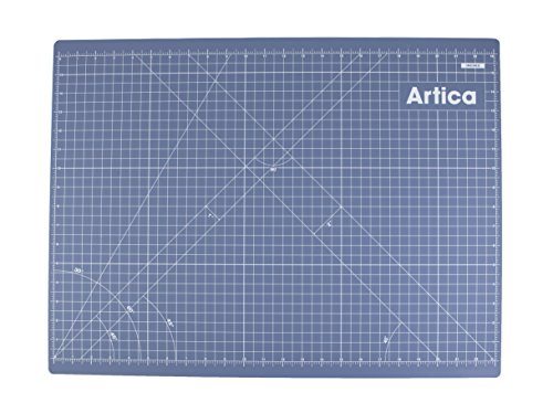 Artica Double-Sided Self-Healing Rotary Cutting Mat, One Side Inches, Other Side Metric, Provides Maximum Flexibility For Your Projects. Great for Crafts, Art, Makers, Quilting, Sewing. (A2 (24''x18'')) by Artica Crafts
