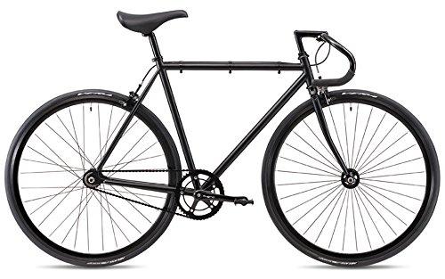 FUJI(フジ) FEATHER シングルスピード ピストバイク 19FETRBK58 MATTE BLACK 58cm   B07G2DGZ1Y