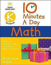 10 Minutes a Day Math Kindergarten: Helps develop strong math habits