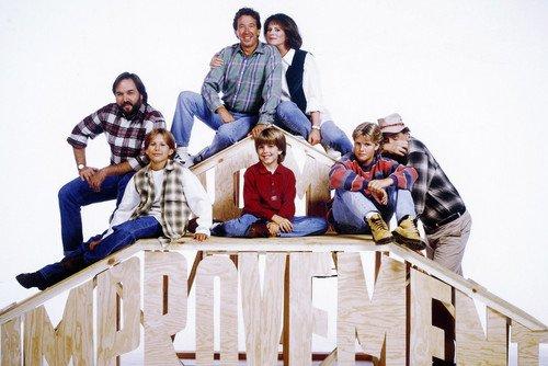 Home Improvement Tim Allen Patricia Richardson and Copious Cast Pose 24x36 TV Poster