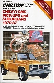 Chevrolet gmc pick ups 1967 thru 1987 haynes repair manual chevygmc pickups suburbans 1970 87 chiltons repair tune up fandeluxe Image collections