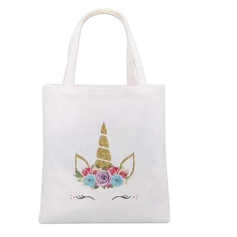Amazon.com: Lingpeng Bolsa de unicornio para niñas, regalo ...