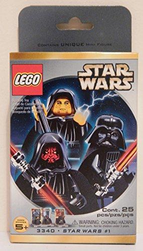 Set de figuras de LEGO Star Wars Darth Maul, Darth Vader y Palpatine (3340)