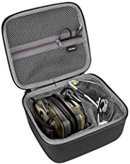 ProCase Hard EVA Travel Case for Howard Leight Impact Sport OD Electric Earmuff and Genesis Sharp-Shooter Safe