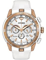 Citizen Womens CA4153-00A Victoria Azarenka Ecosphere Limited Edition Analog Display Japanese Quartz White Watch