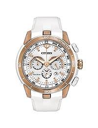 Citizen Women's CA4153-00A Victoria Azarenka Ecosphere Limited Edition Analog Display Japanese Quartz White Watch