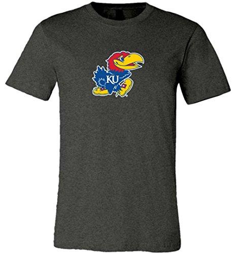 Ash Youth Football - Official NCAA University of Kansas Fighting Jayhawks KU ROCK CHALK! Unisex T-Shirt - 03UK2LF