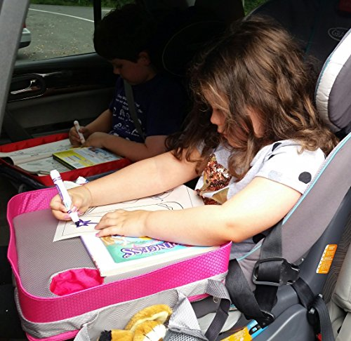Kids Travel Tray – Car Seat Lap Tray for Children & Toddlers ...