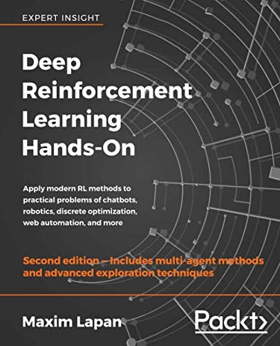 Book cover of Deep Reinforcement Learning Hands-On by Maxim Lapan