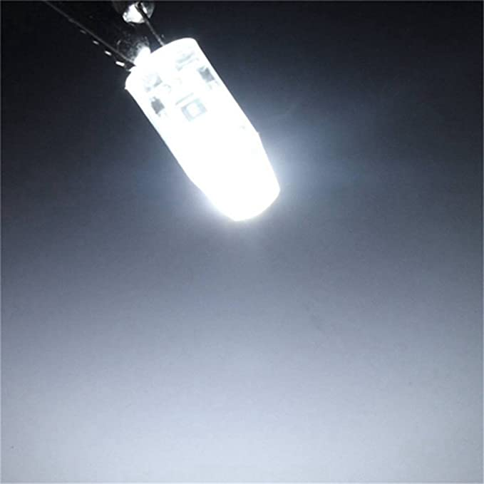 Bulbo llevado del ma/íz 10PCS LED G4 COB 1508 3W 260LM Blanco c/álido//Blanco fr/ío Decorativo//Impermeable LED Bi-pin Lights AC//DC 12-16V Color : Blanco fr/ío